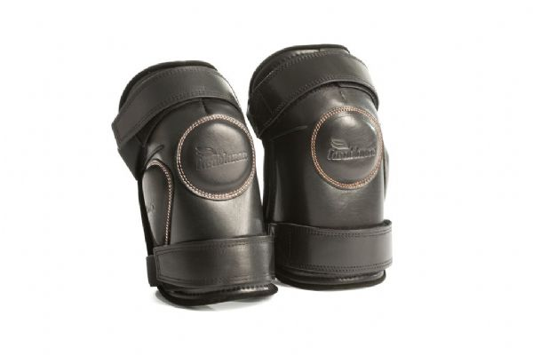 Casablanca Kneepads Black - Double Strap Small Lady/Child
